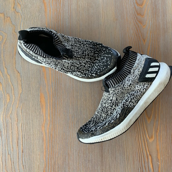 Adidas PrimeKnit Boys Running Shoes No Laces